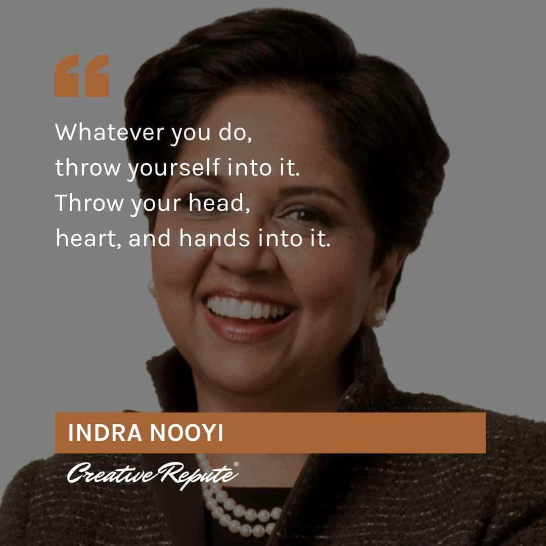 Indora Nooyi quote