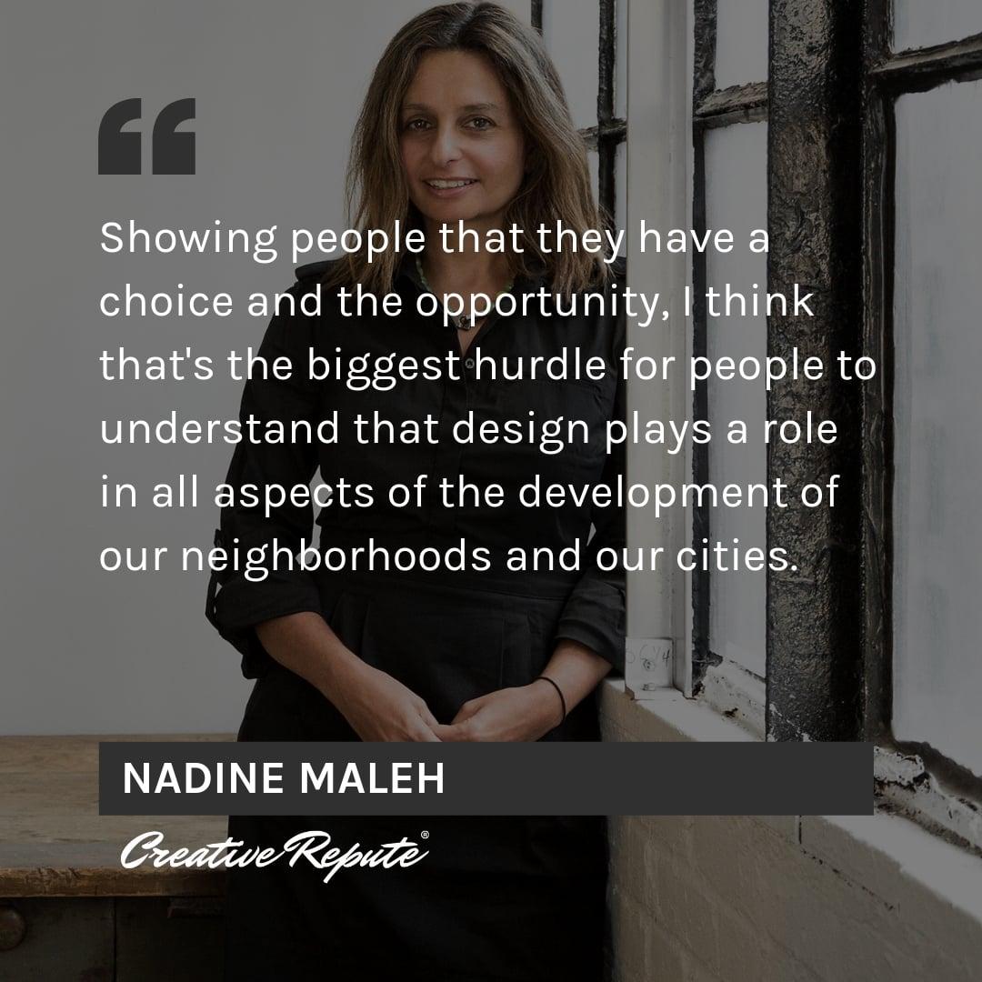 Nadine Maleh quote