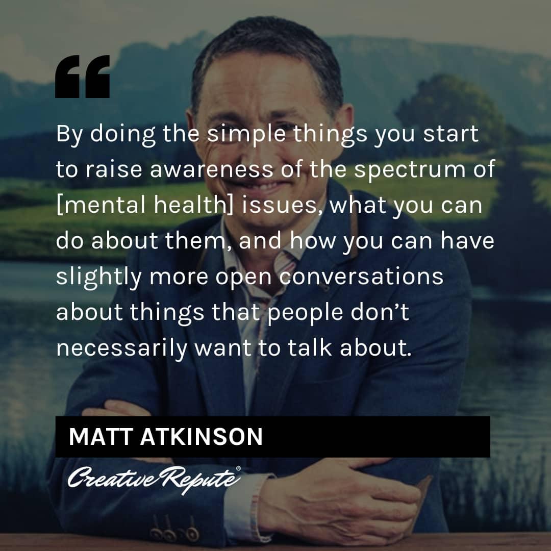 Matt Atkinson quote
