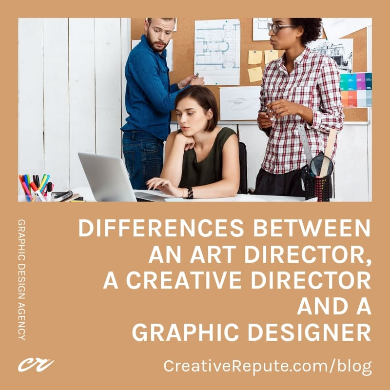 Differences between an art director, a creative director and a graphic designer