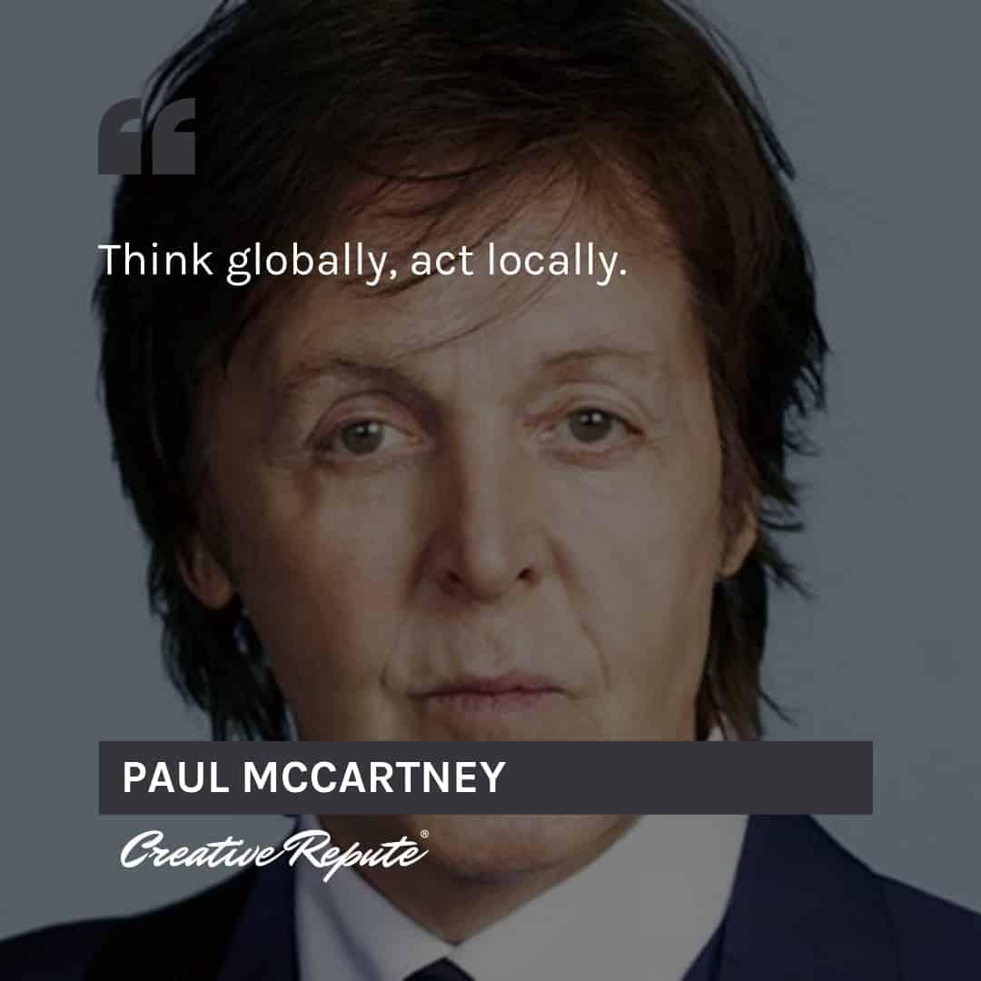 Paul McCartney quote