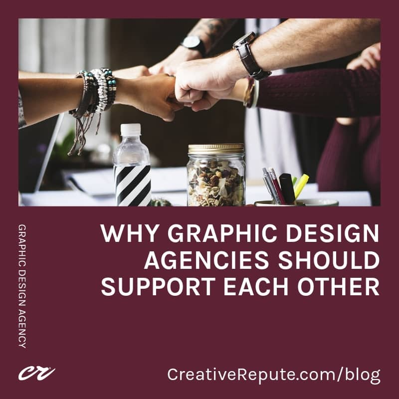Why graphic design agencies should support each other