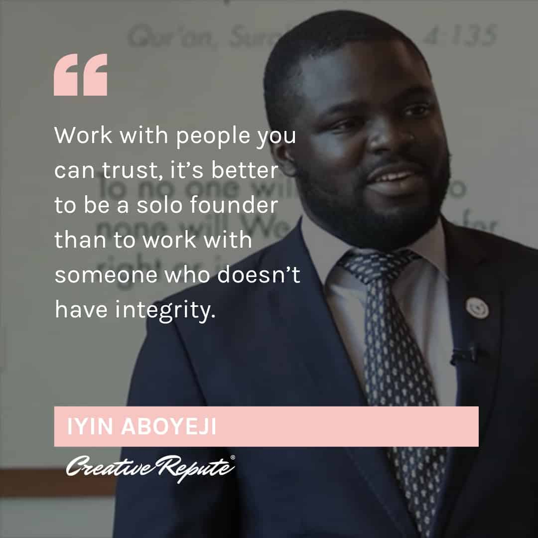 Iyin Aboyeji quote