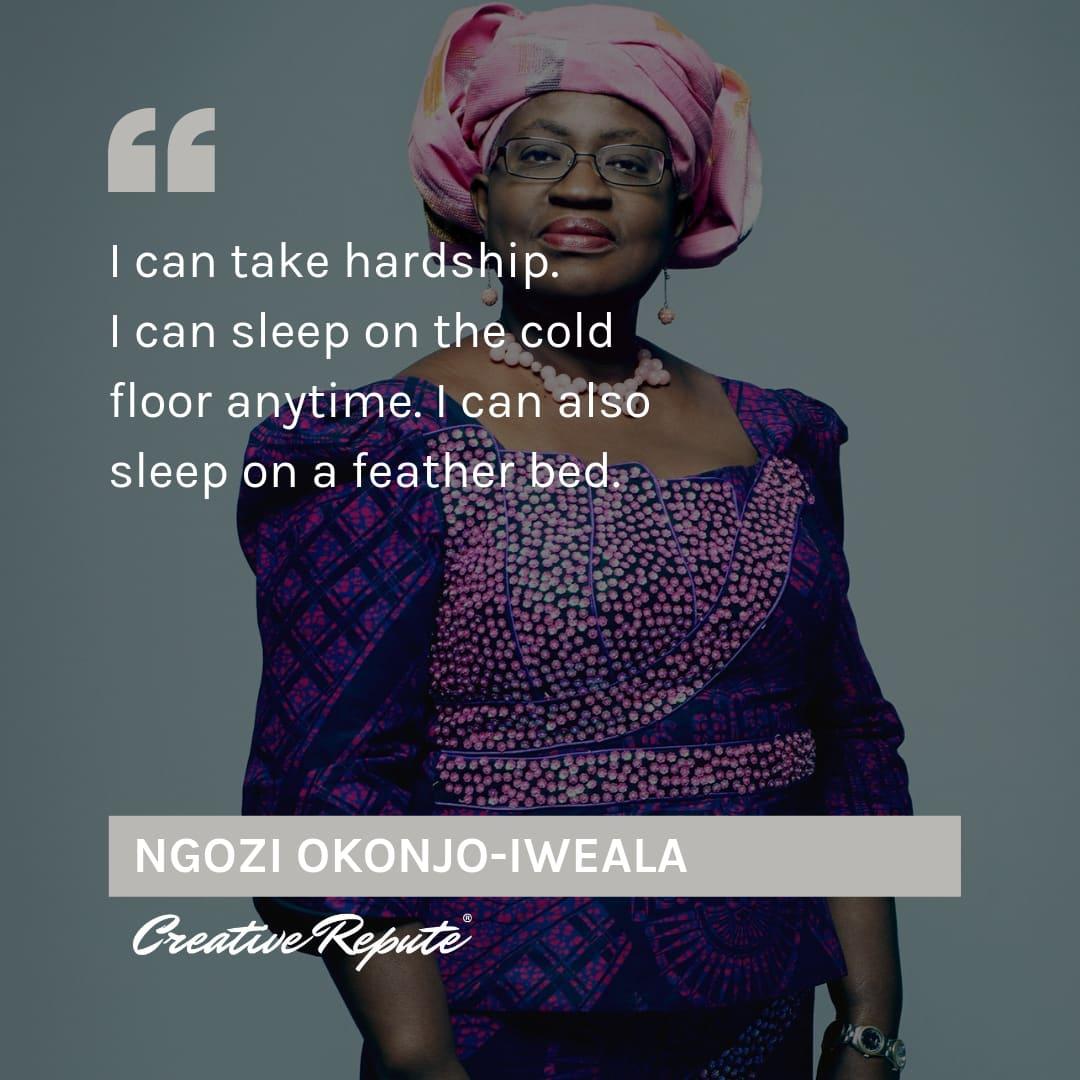 Ngozi Okonjo-Iweala quote