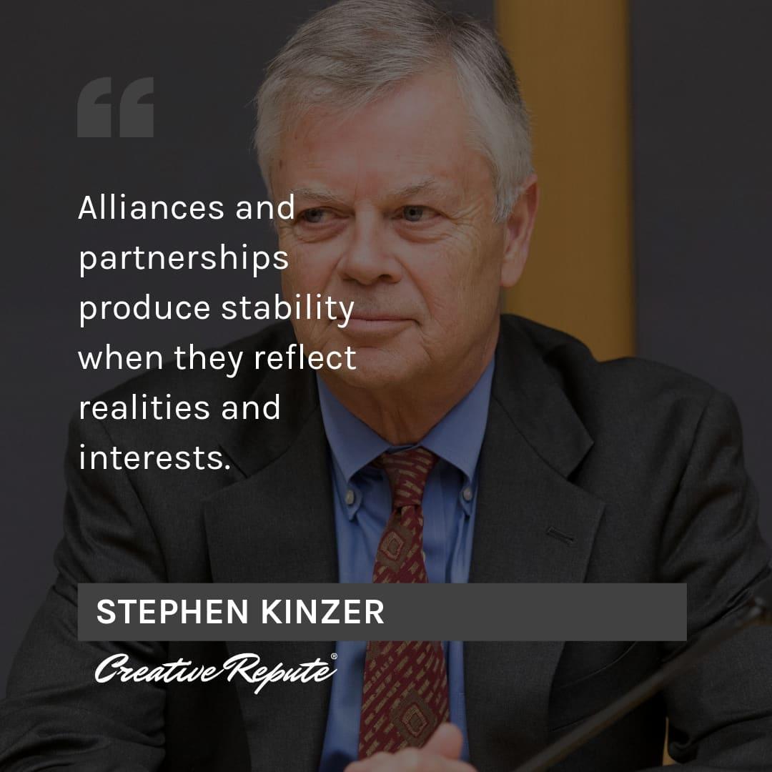 Stephen Kinzer quote