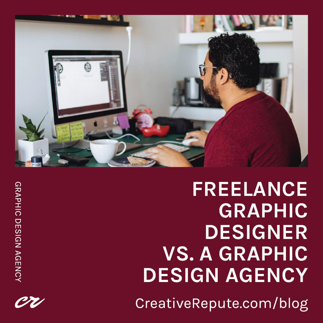 Freelance Graphic Designer vs A Graphic Design Agency