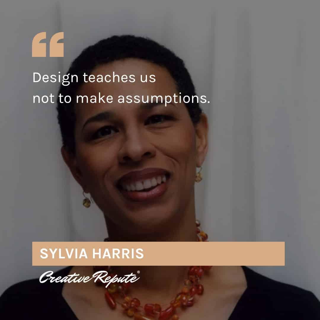 Sylvia Harris quote