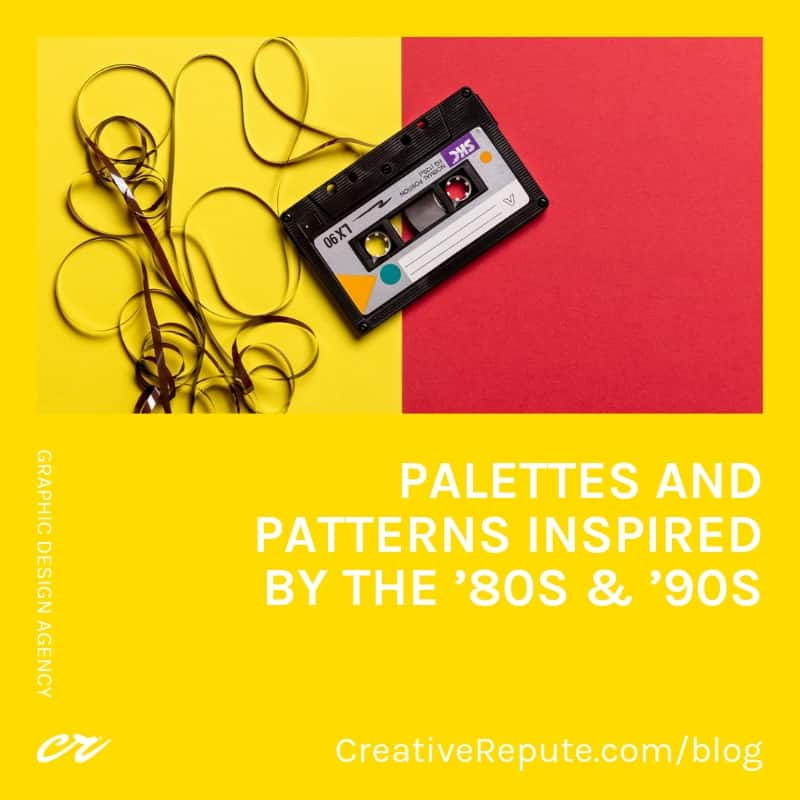 80s & 90s Palettes and Patterns