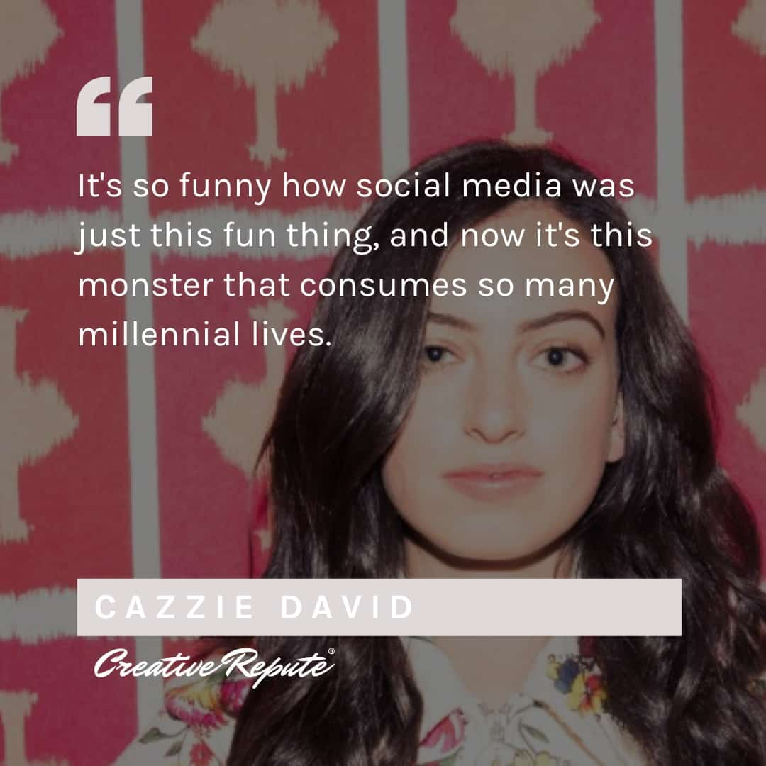 Cazzie David Quotation