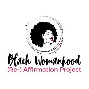 logo black womanhood re affirmation project mark mariam williams philadelphia philly phila afro earrings lip red pink black self love