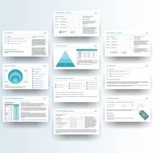 presentation professional graphic design help branding target consistency slides powerpoint