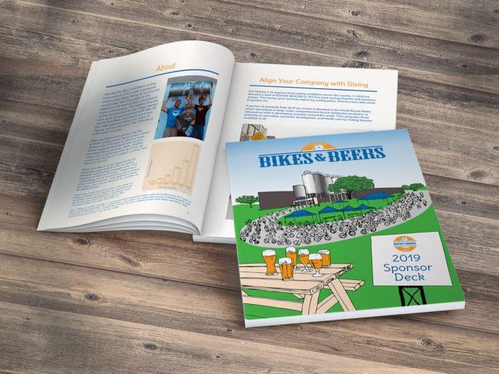 Sponsorship Package Design   Bikes and Beers