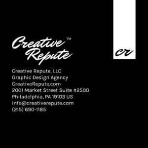 creative repute square business cards