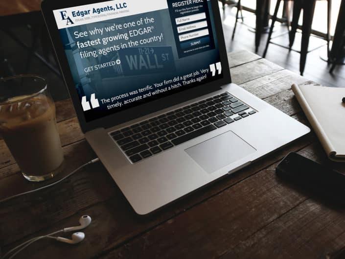 Landing Page Design | Edgar Agents, LLC