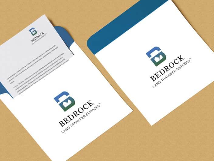 Logo Design | Bedrock Land Transfer Services