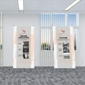 layout floorplan office graphic design hand historical photgraphs archives smalls museums services