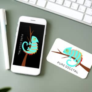 mouse pad phone screen didital mockup art illustrative vectorize graphic design agency work station