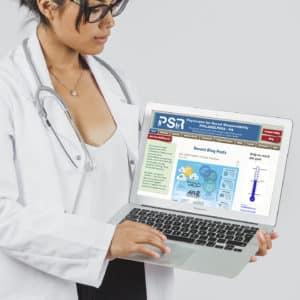 physicians service philadelphia non-profit infographic mixed use repurpose presentation website informational graphic design