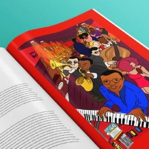 Coffee Table Book Illustration