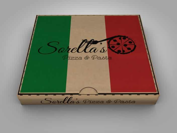 Logo Design | Sorella's Pizza & Pasta