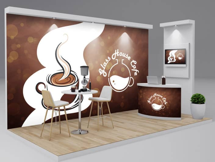 Trade Show Booth Design | Glass House Cafe