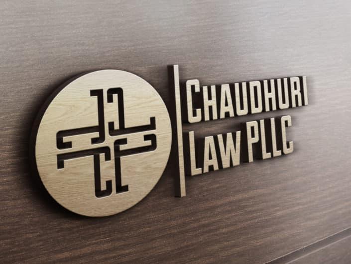 Logo Design | Chaudhuri Law PLLC