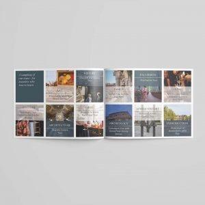 context travel brochure tradeshow marketing materials danielle pitonyak wanut street network travelers travelguide