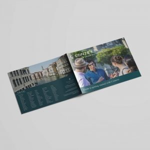 context travel cities international brochure philadelphia scholars specialists marketing print
