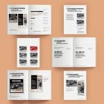 kcaah style guide print template format branding typography creative repute nile livingston noah smalls portfolio upper darby art gallery museum services graphic design