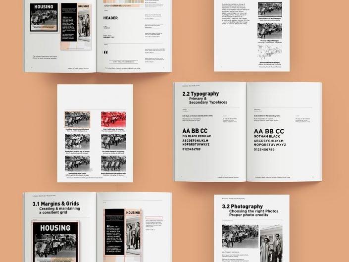 Exhibition Design   Style Guide   Floor Plan   KCAAH
