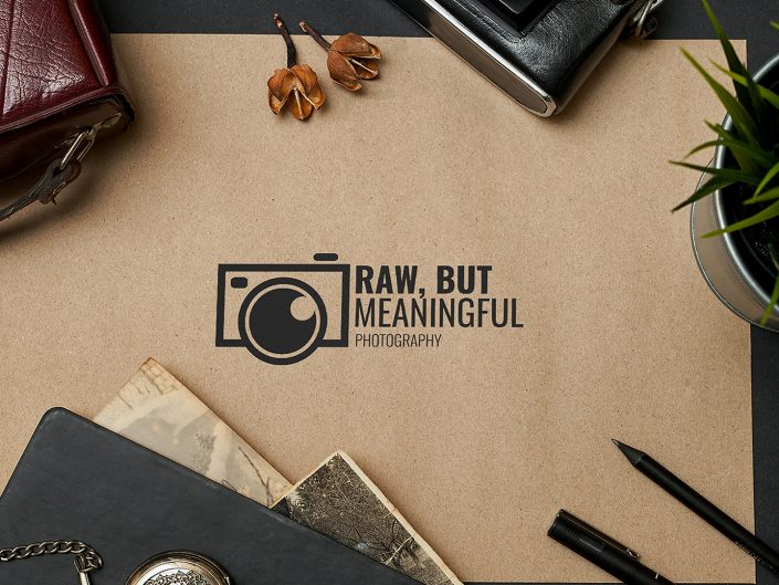 Logo Design | Raw, But Meaningful Photography