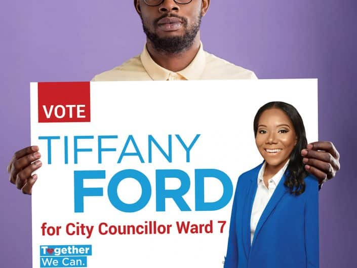 Marketing Materials | Tiffany Ford Political Campaign