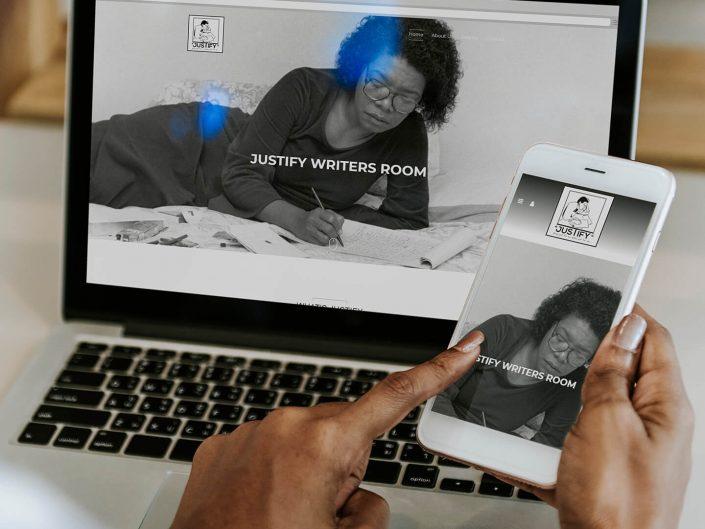 Website Design | Justify Writers Room