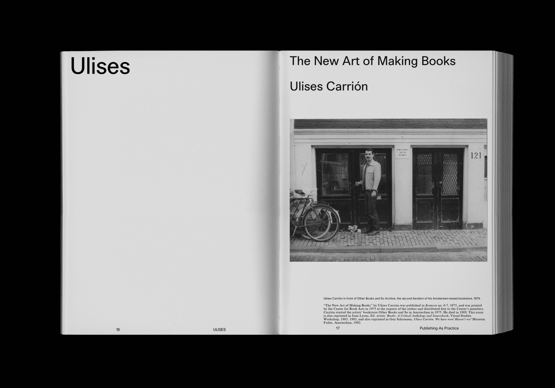 ricky yanas ulises carrion book store artist book philadelphia creative repute graphic design agency artist interview