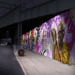 mural mockup north philly planning stage hire consultants public large scale multi site project