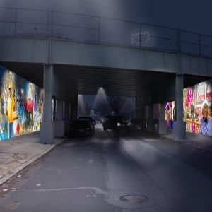 public art proposal city commission recommendation rendering
